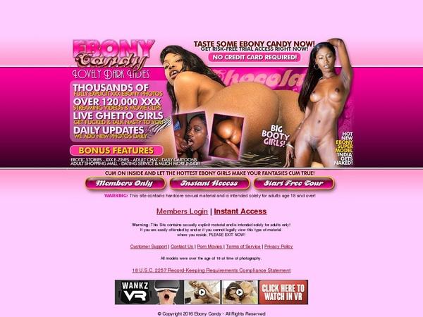 Ebony Candy V2 Logins